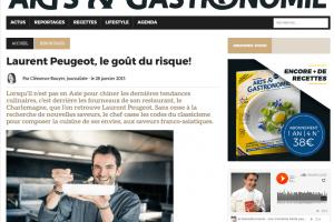 Laurent Peugeot, le goût du risque!