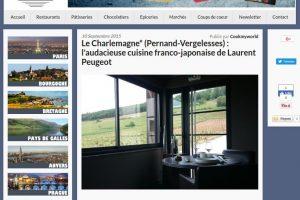 Le Charlemagne* (Pernand-Vergelesses) : l'audacieuse cuisine franco-japonaise de Laurent Peugeot