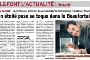 Laurent Peugeot aux Saisies